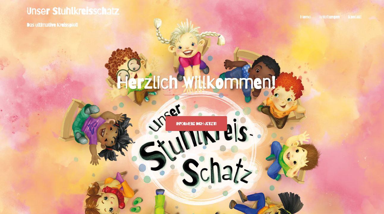 Stuhlkreis-Schatz Website online