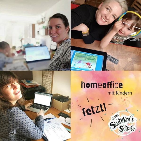 Stuhlkreis-Schatz Homeoffice