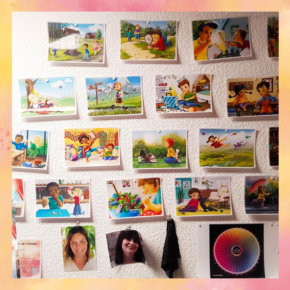 Stuhlkreis-Schatz Vorproduktion Spielkarten