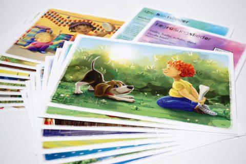 Stuhlkreis-Schatz - Spielkarten